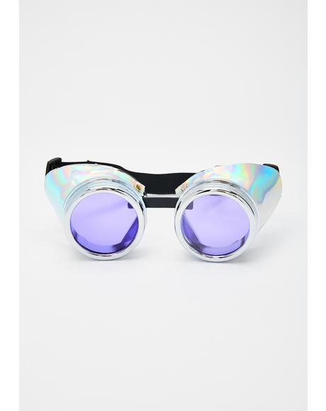 Cyber Storm Holographic Goggles