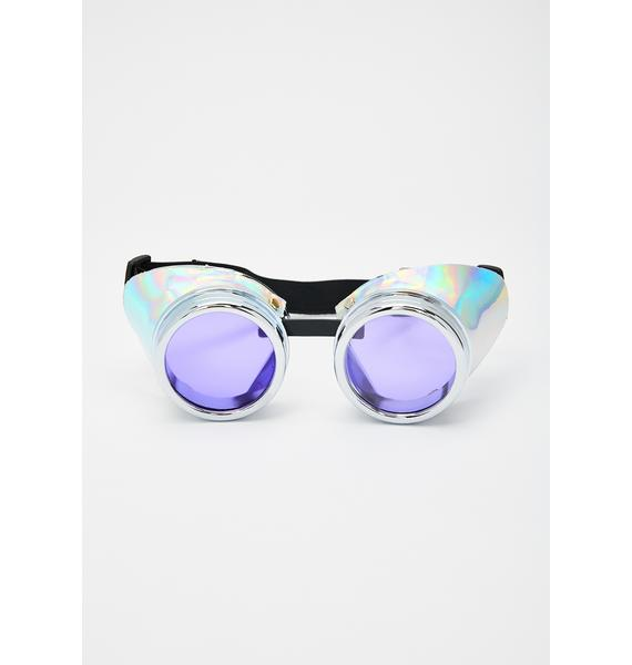 Funk Plus Cyber Storm Holographic Goggles