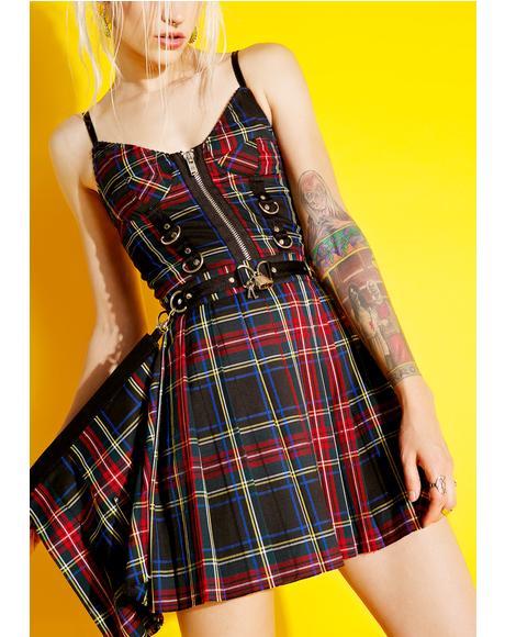 Axel Pleated Lock-It Skirt