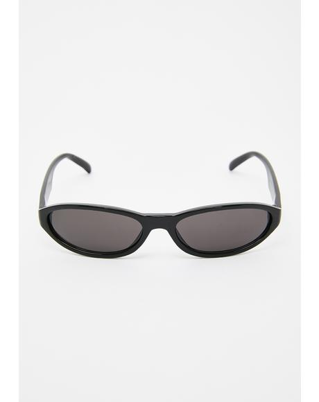Party Crasher Oval Sunglasses