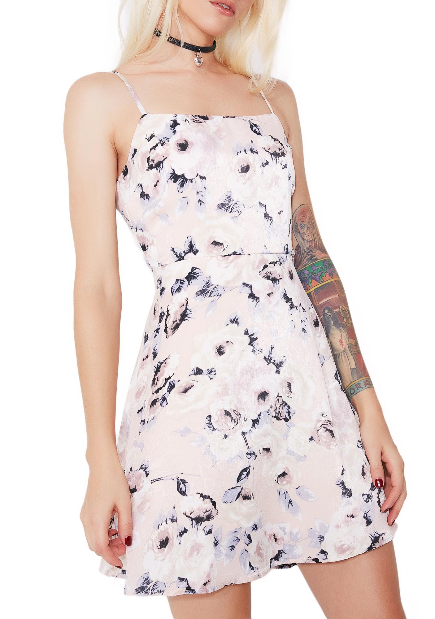 Edelweiss Floral Dress