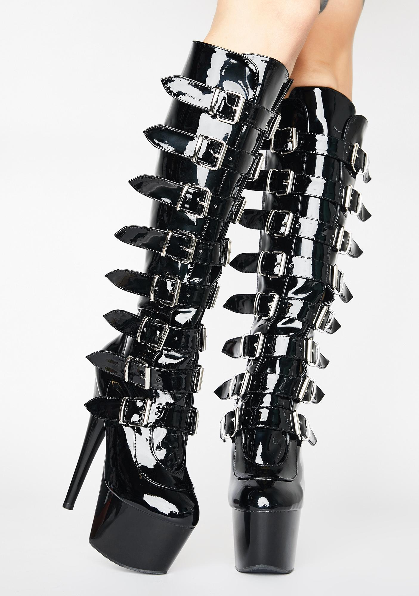 Pleaser Sultry Obsession Stiletto Boots