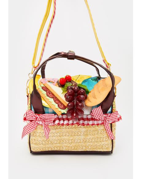 What A Spread Picnic Handbag