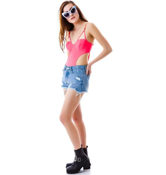 Katy Cut Out Bodysuit