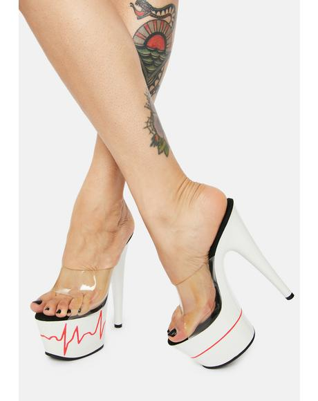 Cool Heartbeat Racer Heels