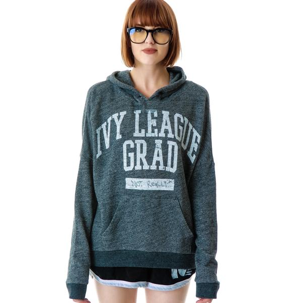 Junk Food Clothing Ivy League Grad Pullover Hoodie