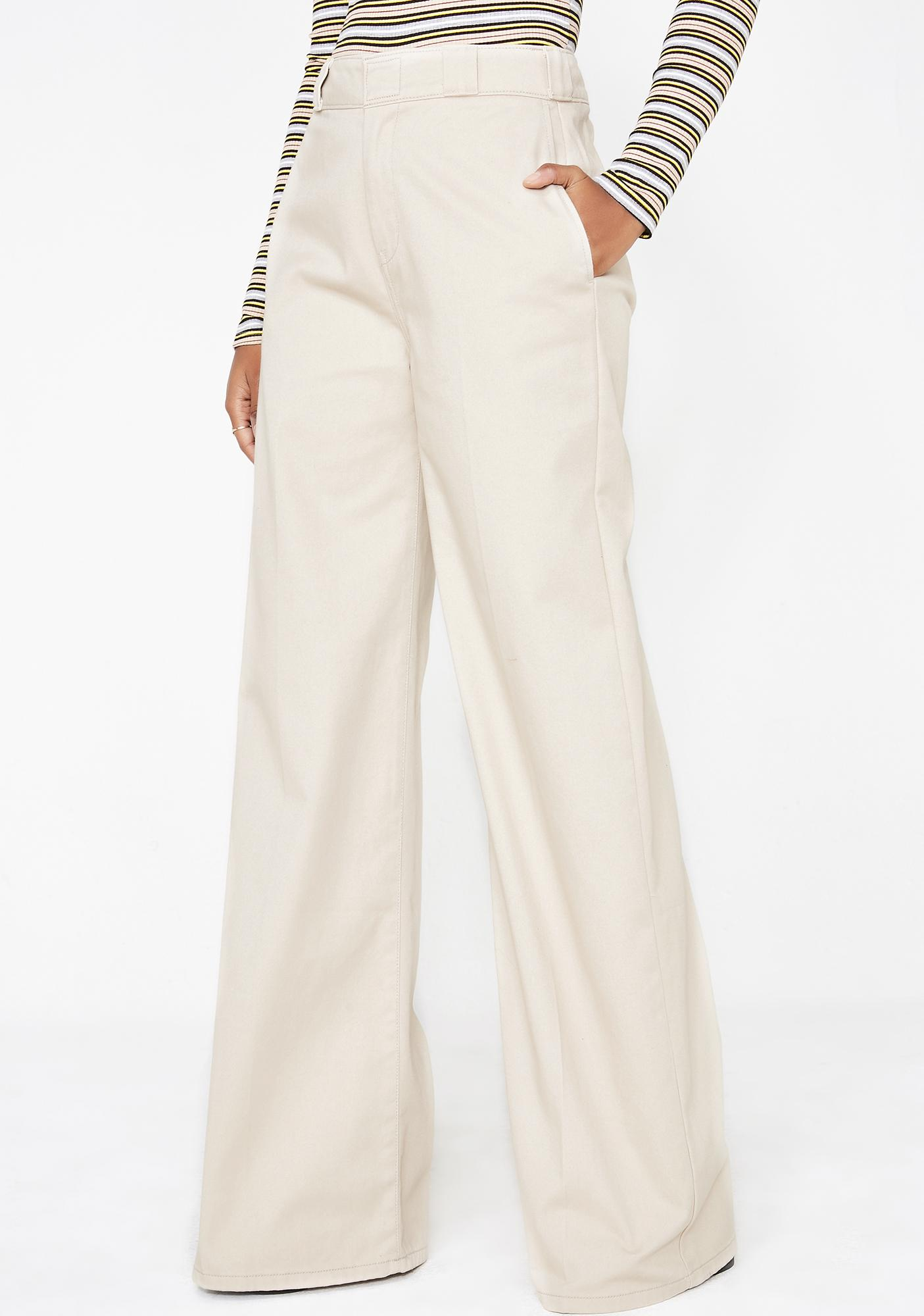 Dickies Girl Worker Wide Leg Pants