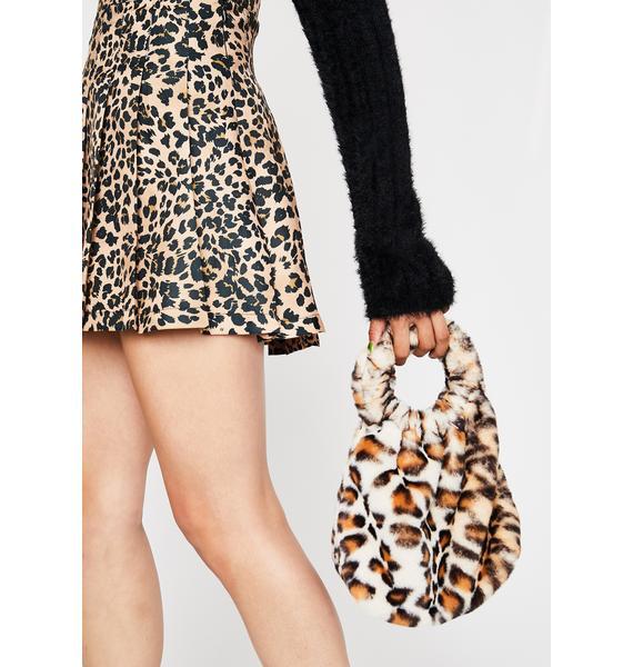 Side Of Sass Fuzzy Handbag