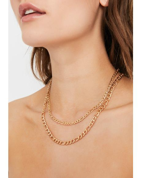 Get Linked Chain Necklace