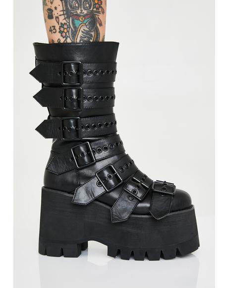 Annihilation Platform Boots