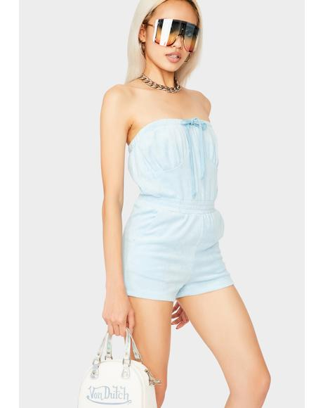 Powder That's Hot Tube Romper