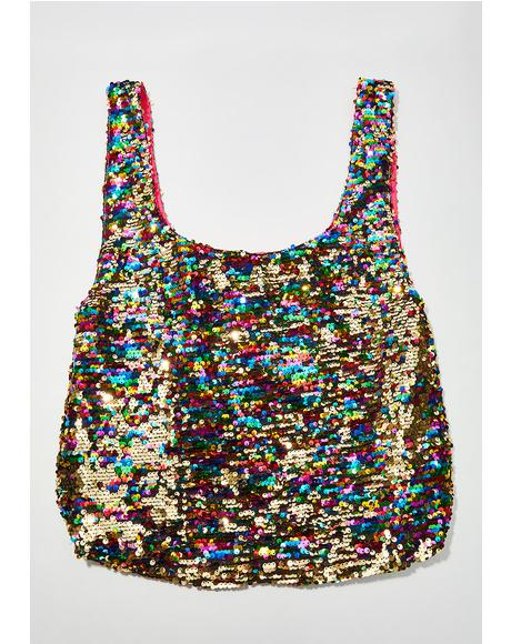 Shimmer All Day Sequin Shopper