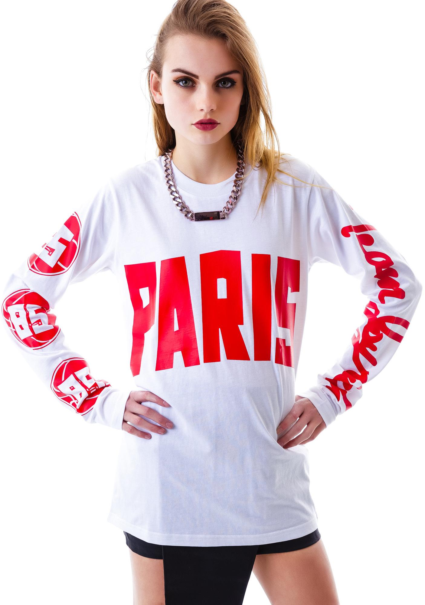 Joyrich Rich Team Paris Long Sleeve Tee