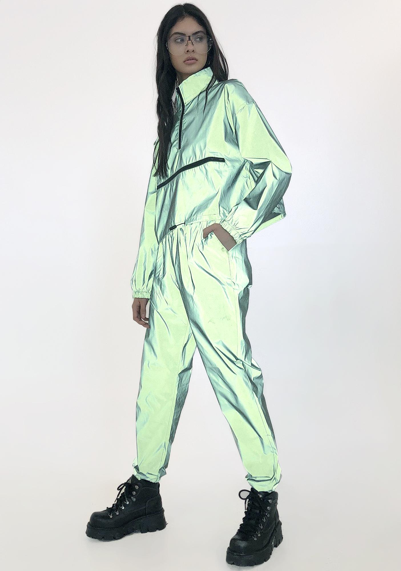 Slime Galaxy Reflective Tracksuit