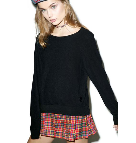 Wildfox Couture Basics Baggy Beach Pullover