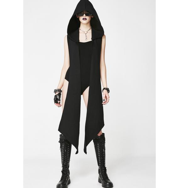 Necessary Evil Leda Strap Buckle Bodysuit