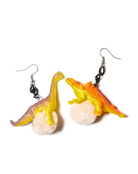 Dino-mite Earrings