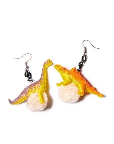 Dino-mite Earrings
