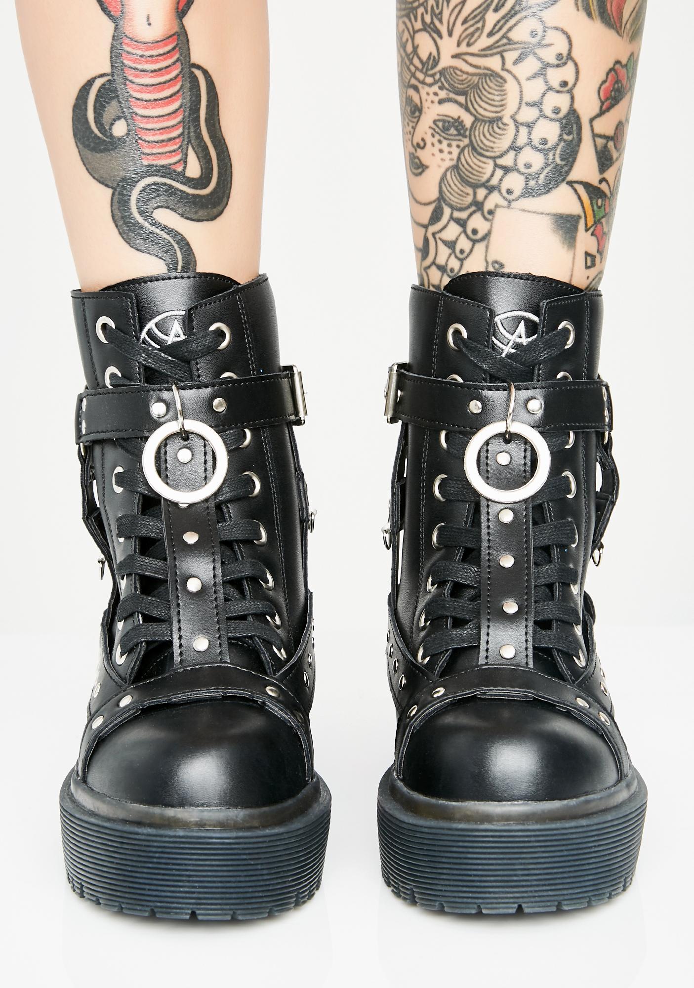 bondage in boots