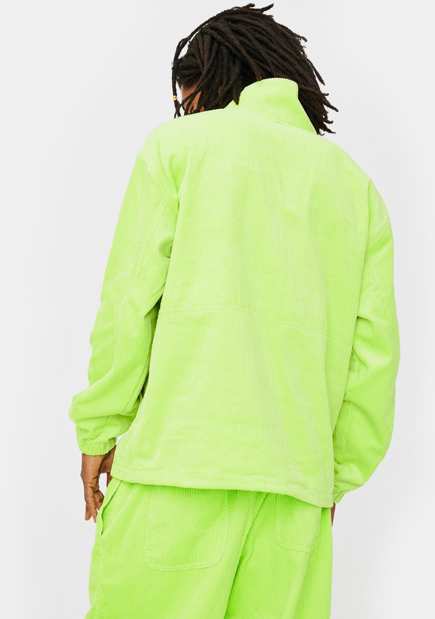 Obey Obey Hugo Neon Anorak Cord Jacket