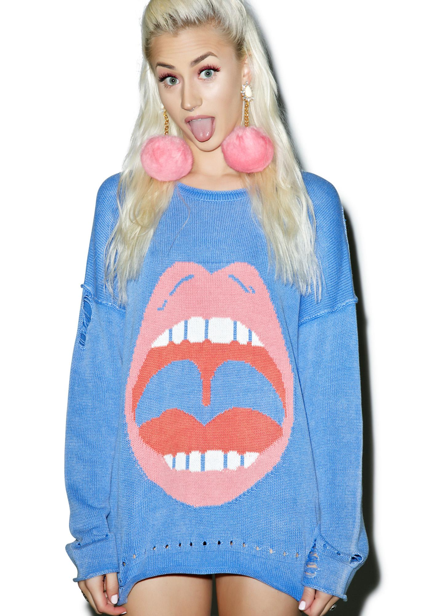 Wildfox Couture No Filter Bloomy Sweater