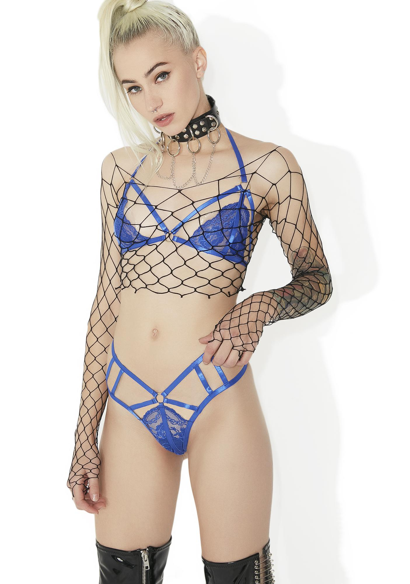 Little Miss (Not So) Innocent Lace Set