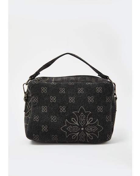 Carnitas Denim Crossbody Bag