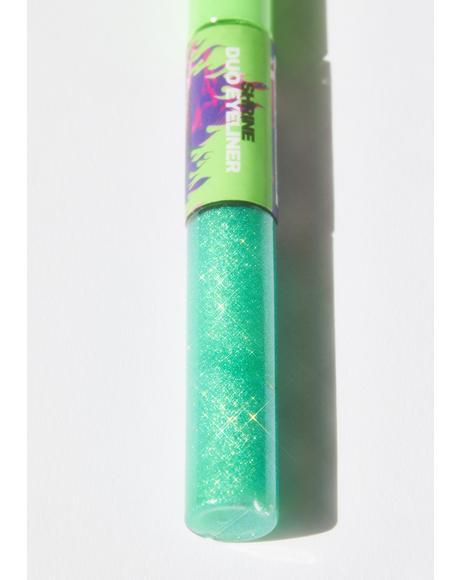 Neon Green Duo Eyeliner