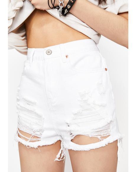 Forever Viral Denim Shorts