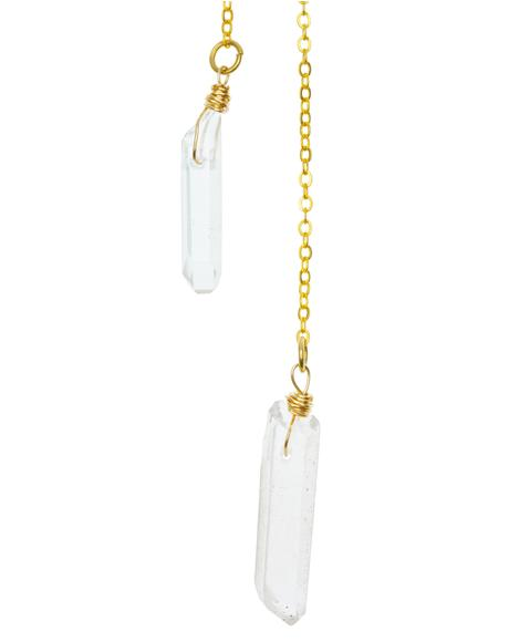 Stagger Lee Quartz Necklace