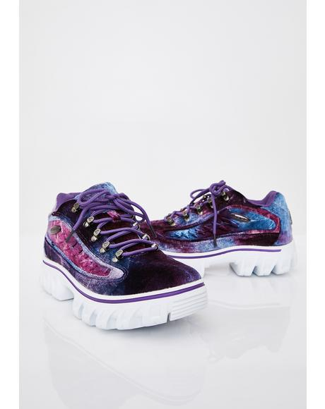 Amethyst Dot.Com 2.0 Oxford Sneakers