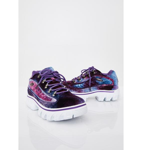 Lugz Amethyst Dot.Com 2.0 Oxford Sneakers