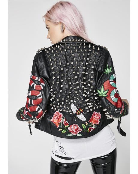 Garden Of Eden Leather Jacket