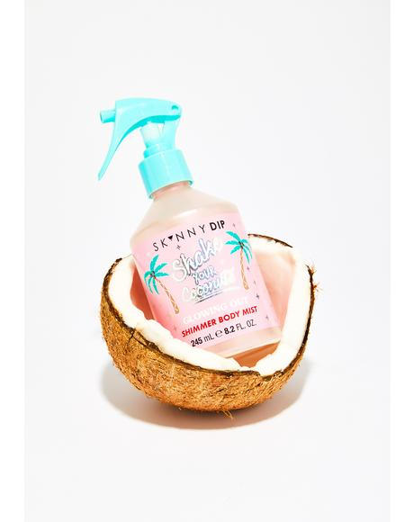 Shake Your Coconuts Shimmering Body Mist