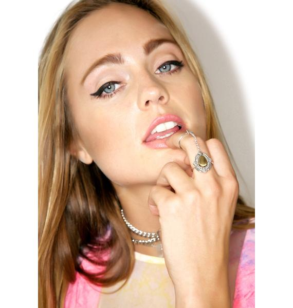 Vanessa Mooney Empire Double Chain Ring