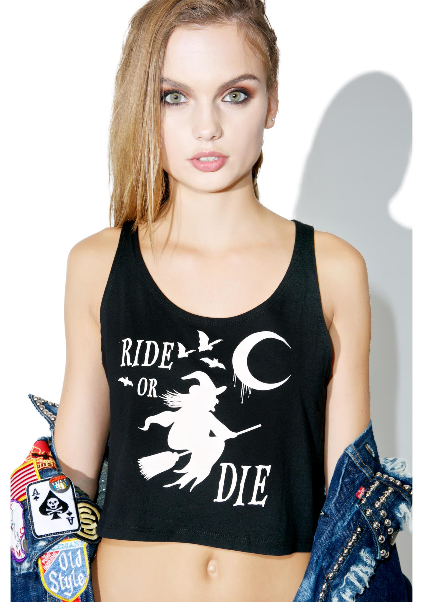 The Ride Or Die Crop Top