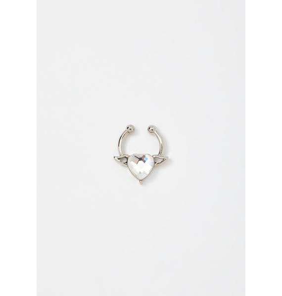 Angel Heart Septum Ring