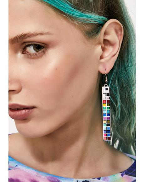 Meltdown Drop Earrings