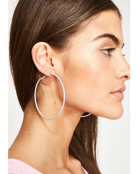 Feel The Vibe Hoop Earrings