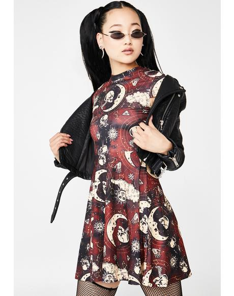 Bloodmoon Phases Dress