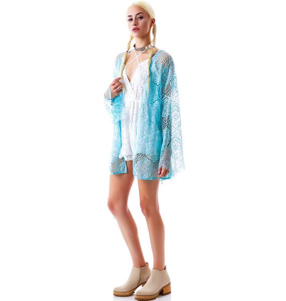 For Love & Lemons Dream Girl Short Robe