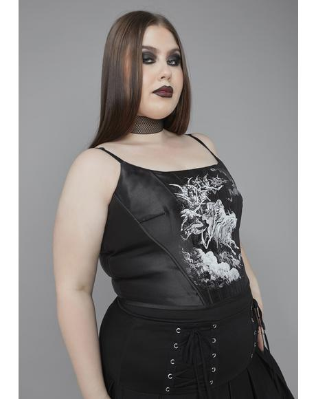 Our Day Of Wrath Corset Top