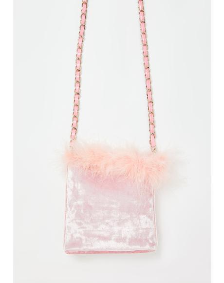 A Total Betty Marabou Mini Bag
