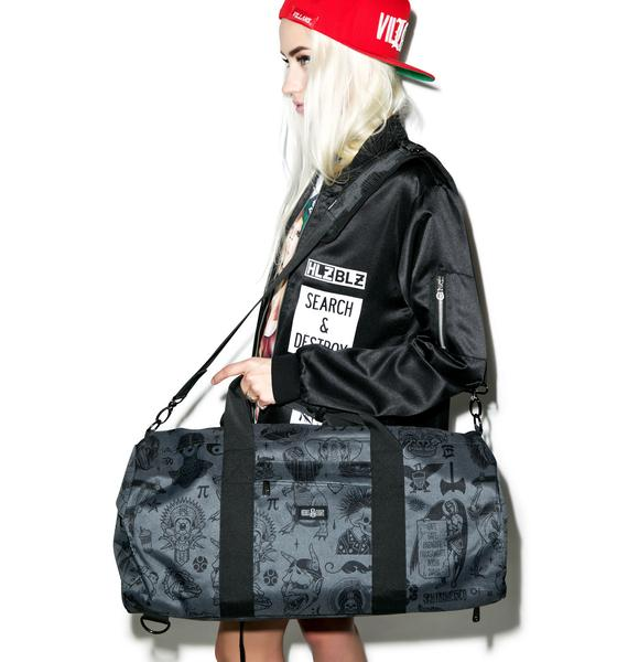 Rebel8 Giant Flash Duffle Bag