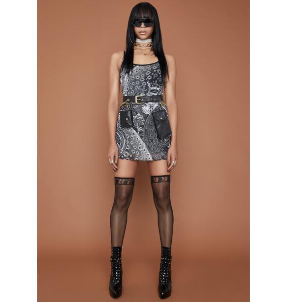 HOROSCOPEZ On The Rise Mini Dress