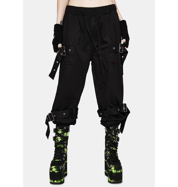 Tripp NYC Strap Knit Sweatpants