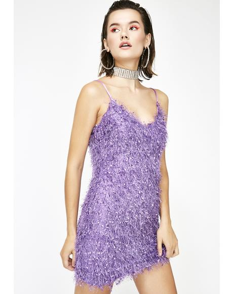 Crush A Lot Fuzzy Dress