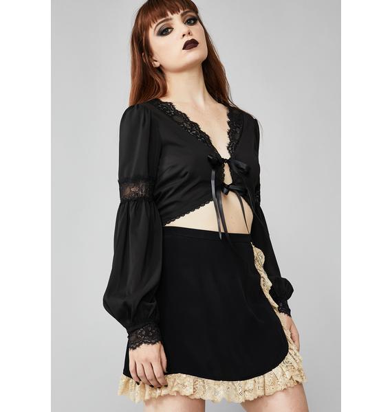 Widow Soulless Devotion Lace Skirt