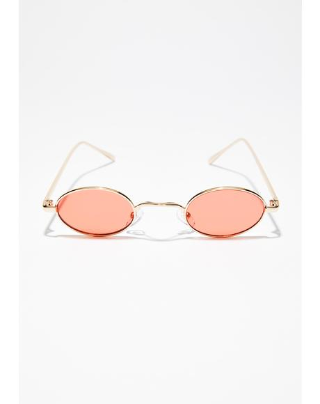 Peaches N' Cream Sunglasses