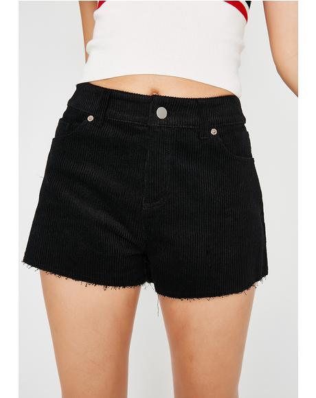 Keep It Simple Corduroy Shorts